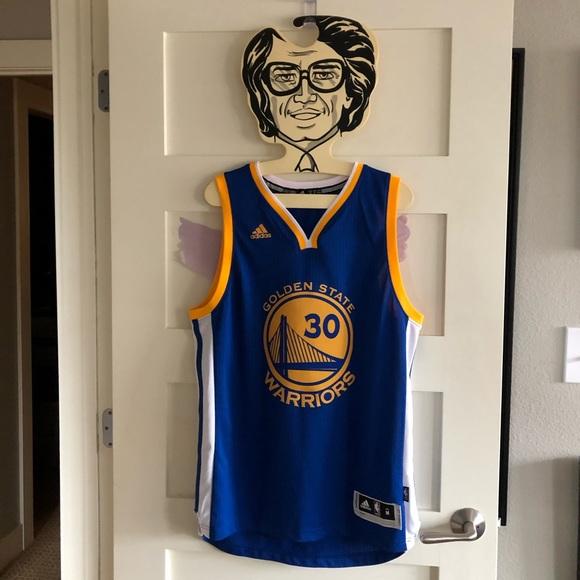 buy popular 18a6f b01b8 Golden State Warriors Stephen Curry Adidas Jersey